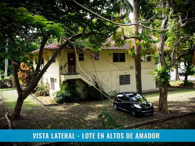 LOT IN ALTOS DE AMADOR WITH TWO LEVEL HOUSE