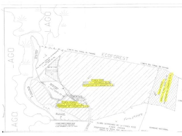 UNIQUE LAND IN FRONT OF GATUN LAKE FOR DEVELOPMENT