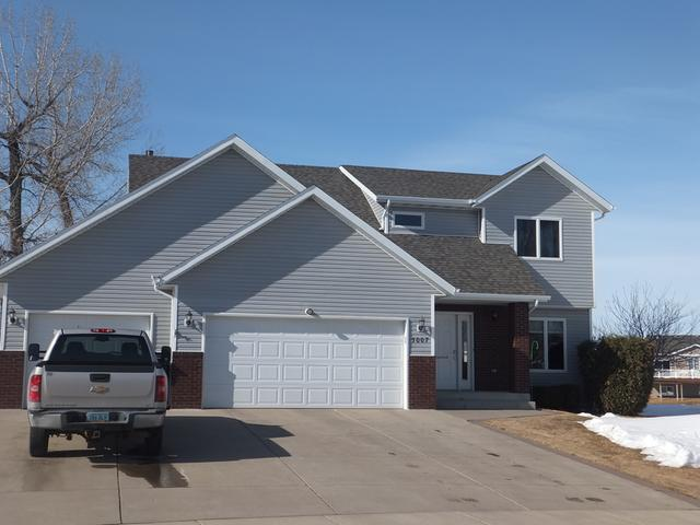 Just in time for Summer!!! Waterfront property in Mandan with docks included! 4 bedrooms, 3 1/2 bathrooms, new flooring in the basement and main floor. Master suite has has a jacuzzi tub and shower! Stainless appliances, washer and dryer included. Attached 3 stall garage with floor drain, insulated and heat. Don't miss this one! Call your favorite agent for a private showing!!