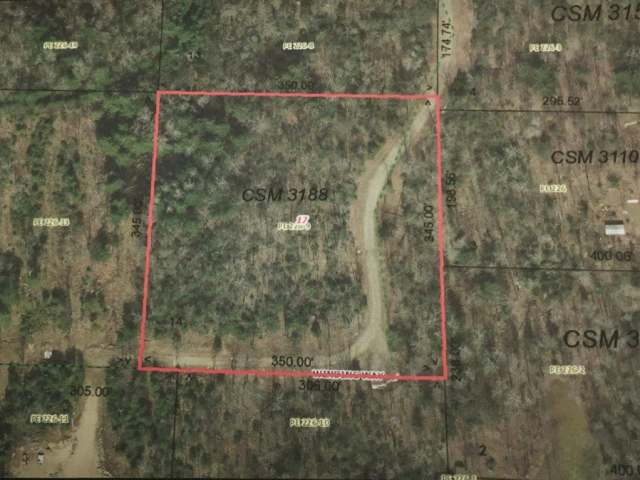 Country lot just outside of town with 2.77 acres of wooded land on a private road. Perfect property to build your Northwoods dream home or cabin. Protective covenants to help keep your investment and the neighborhood well maintained. The property is only a couple miles outside of town so you are close to the schools, hospitals and shopping but still far enough in the country to be able to escape it all. Close to many lakes, trails and other recreational activities.