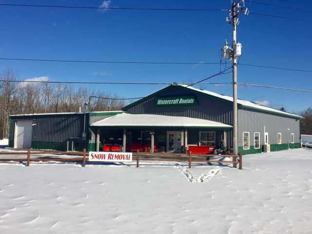 Wilderness Sales & Service: Here's a great opportunity to own a well-established successful Park Falls business that has been recently updated. In addition there is a second location that is now the site for a new 80x100 storage building with plenty of exterior space for additional boat storage. This state of the art construction fully excides your normal pole building warehouse. The business is located on Busy HWY 13 in Park Falls, consisting of dock manufacturing along with sales and service for Floe & Hewitt boat hoists, docks and accessories. They also feature Western Plows sales and service. Included in sale are two hoist removal boats that are state of the art, rigged with hydraulic cranes. This is a turnkey operation that includes all furniture, fixtures and equipment, along with vehicles and rental boats. A detail list of these items are included with the listing. Make your appointment today to view this fine listing.