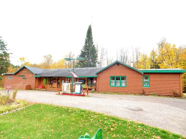 """BE YOUR OWN BOSS! You've said it a million times. """"We should move north where the air is clean and we can fish and hunt and run a Mom & Pop type business."""" Springstead Trading Post - Indoor Archery Range & Pro Shop, Gas station, full 3BR attached living quarters & walking easement to Muskie Lake. Established 80+ years in business. Comes with many licenses along with both a Class A & Class B Liquor license. Northland Pole Building built in 2002 is heated and insulated with a 1200sq ft sales, display, shop and lounge area and 40x105 indoor 3-D range area. Trading Post Retail Store for groceries, bait, tackle, ice, cigarettes, beer liquor, pop, hand scooped ice cream, necessities, souvenirs and gifts. Also under utilized areas to expand your possibilities. Comes with the equipment you will need to keep this going. Current owners keep immaculate books and records. Just south of the Turtle Flambeau Flowage and 7 miles to the Springstead Lake landing on Hwy 182 East of Park Falls."""