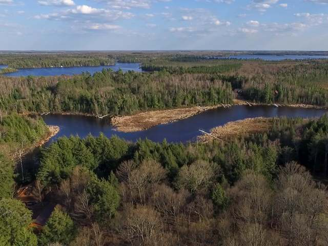 This private, 3 plus acre lot located on the channel between Deer and Crystal Lake on the Three Lakes Chain of Lakes features 250 feet of beautiful water frontage. The wooded lot, located a short drive away from downtown Three Lakes, includes a permanent pier for easy access to the Chain. This one of kind property is the ideal spot to start building your dream home and enjoying the Chain lifestyle.