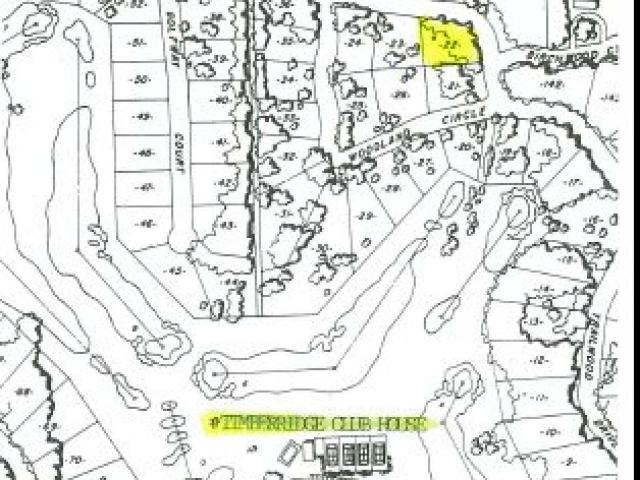 """Timber Ridge has all the """"Bells and Whistles"""" you could desire in a desirable residential subdivision. The roads are private offering the opportunity to drive you golf cart on the streets. The restrictive covenants are simple and logical and help protect your investment. This lot offers easy access from two sides and the amenities include community outdoor swimming pool, par 72 championship layout golf course, club house restaurant/bar, immediate access to the bearskin trail which is a popular walking biking and snowmobile trail. This lot offers an opportunity for a circle driveway. A desirable feature."""