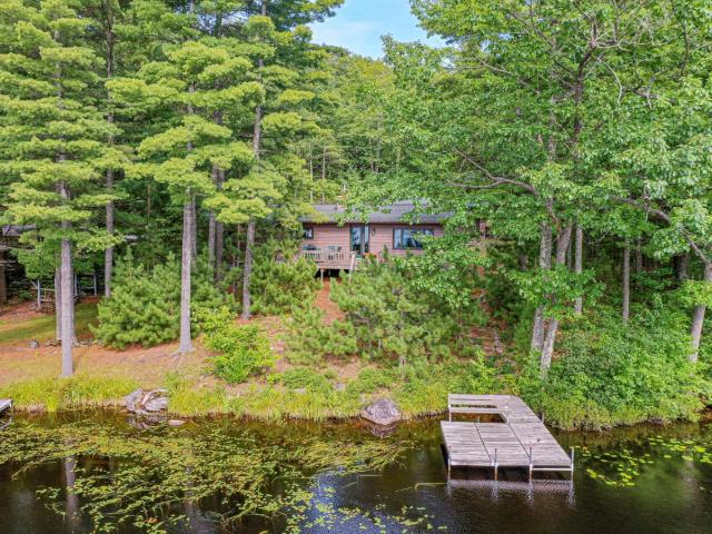 This is a beautiful 3 bedroom 1.5 bath home that sits on 2.4 acres of land and has 100' of frontage on Ross Allen Lake which is a private lake and has no public access. The home has been updated to give better views of the lake and great sunsets. There is also a hot tub that comes with it for your enjoyment. There's also a backup generator that will run the entire house. Since the home is zoned forestry along with the change in laws, it may be rented out weekly for additional income. Come out and look at it today.