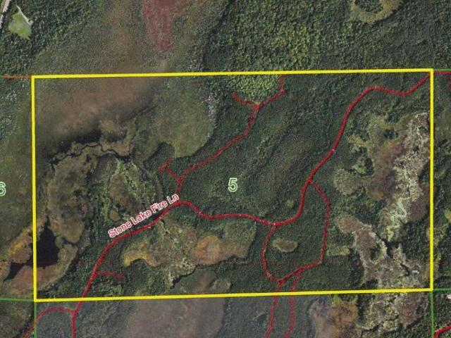 Minocqua Area Land. 349 acres of excellent hunting or recreational land with a creek running through it, varied terrain and a timber mix of aspen and pine. Gated access located west of Minocqua on the Stone Lake Fire Ln. this property is in the heart of the Northwood's. Close to some of the state's premier lakes, ATV and snowmobile trails, silent sports trails/park (Winter Park), and so much more. This is great recreational property with excellent habitat for white tail, grouse, duck, turkey, etc. Enrolled in MLF Open to keep the taxes low, but don't worry as new legislation makes this DNR program more land owner friendly. Ask an agent for additional information.