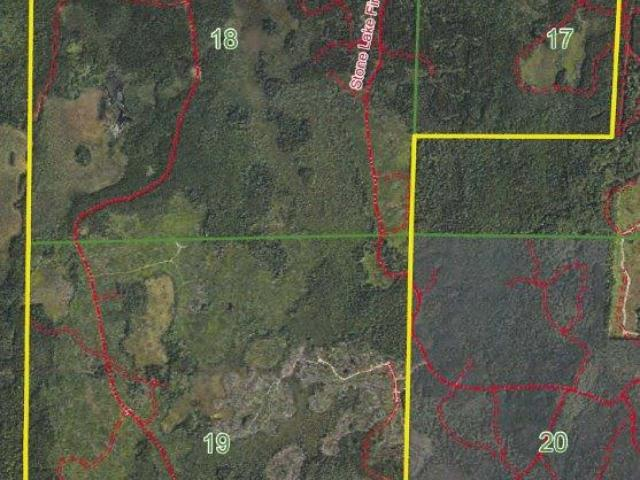 Wild tract of land!! 1459 acres of prime hunting and recreational land on Stone Lake Fire Ln. This parcel is Located west of Minocqua this property is in the heart of the Northwood's and offers a mix of mostly upland with some mature hardwoods and pine as well as large areas that have been cleared in the past couple year with thick aspen regrowth. Great long term investment you can use and enjoy now! Close to some of the state's premier lakes, ATV and snowmobile trails, silent sports trails/park (Winter Park), and so much more. This is great recreational property with excellent habitat for white tail, grouse, turkey, etc. Enrolled in MLF Open to keep the taxes low, but don't worry as new legislation makes this DNR program more land owner friendly. Ask an agent for additional information.
