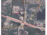 Located just outside of Rhinelander in Pelican township, this 56.52 acre parcel has over 2,500 feet of road frontage located at the intersection of Highway 8/River Bend Rd. and CTH P/ Old Highway 8. Great location, visibility, and easy access permit a perfect opportunity for business development. Land is zoned general use and is wooded with a large cleared area. Included is a small parcel of land across the highway on River Bend Road.