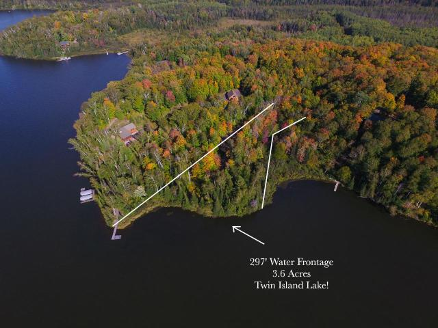 Twin Island Lake lot picture