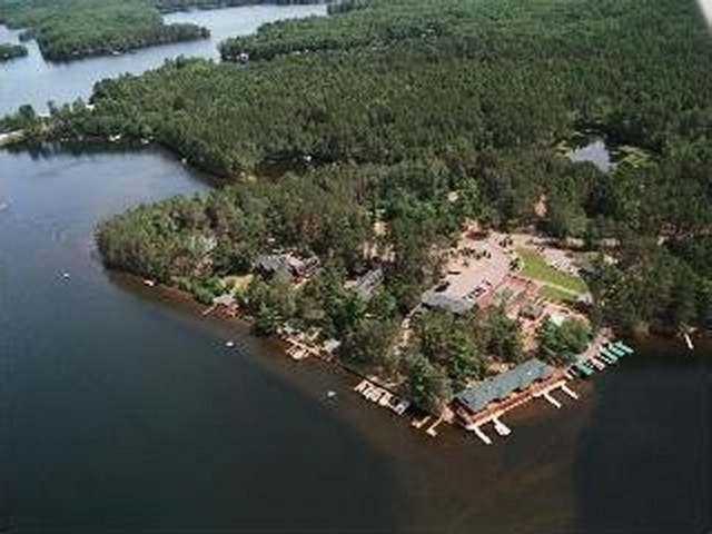 Manitowish Lake lot picture