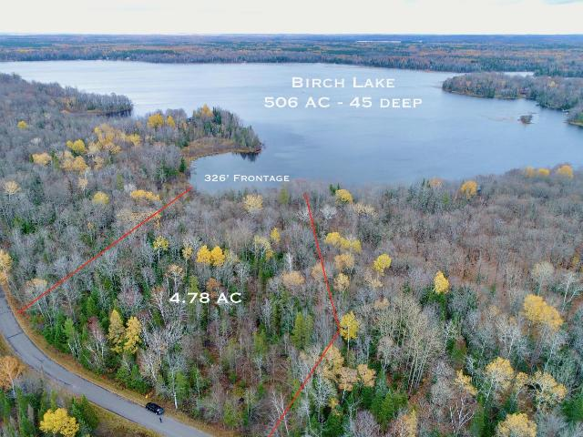 Birch Lake lot picture