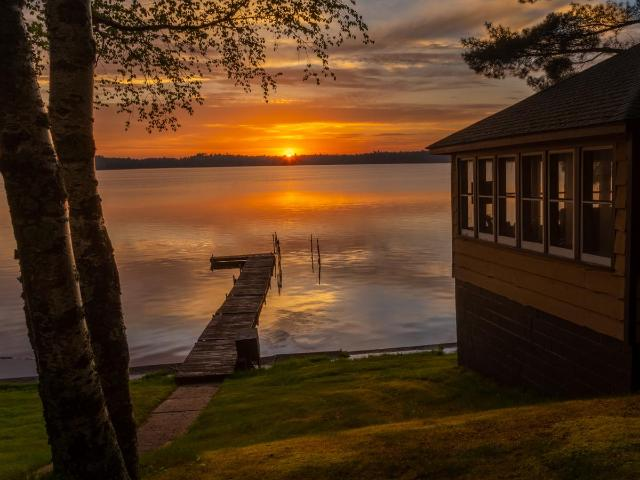 Wild Rice Lake house picture
